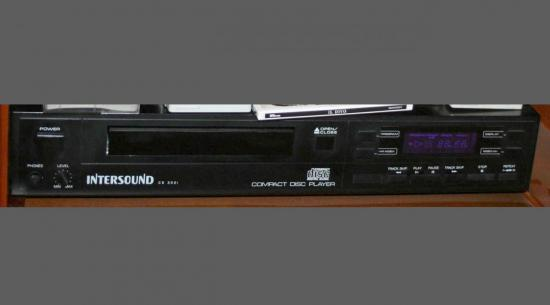 Lecteur-CD  CD3001  Intersound
