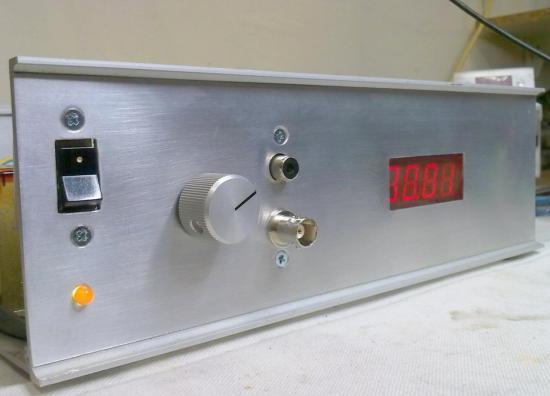 Fréquencemètre Digital de 1 Hz à 10 mHz - Année 2011