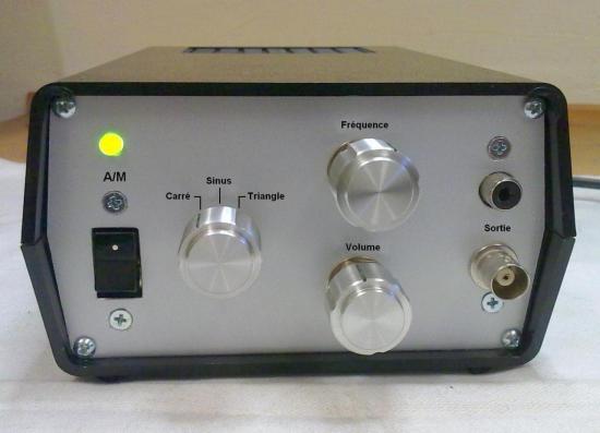 Générateur Basse Fréquence de 0 Hz à 20 kHz - Année 2011