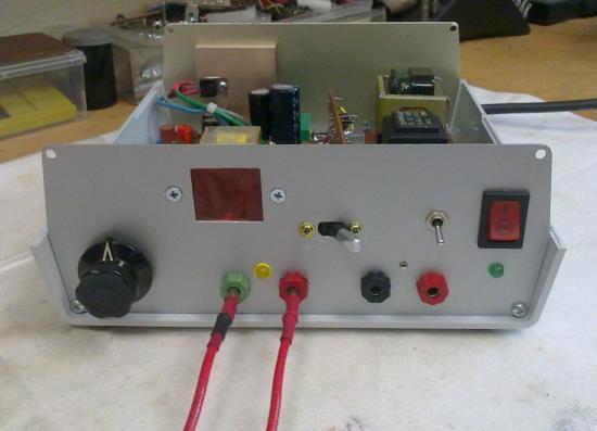 Capacimètre / Voltmètre - Année 2012