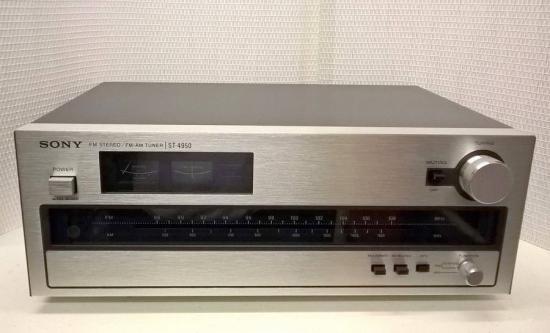 Tuner AM/FM ST-4950 SONY - Année 1974