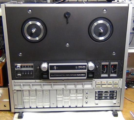 Magnétophone Maestro N4450 Philips - Année 1971
