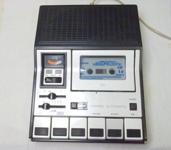 Magnétophone K7 Stéréo C480 GRUNDIG - Année 1978