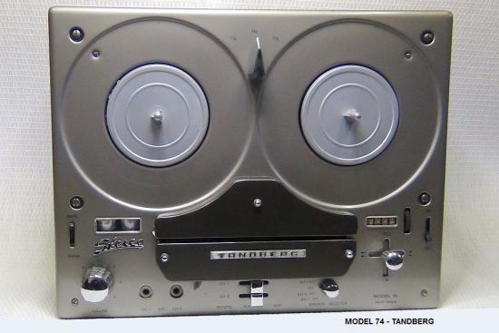 Magnétophone Model 74 - TANDBERG - Année 1964