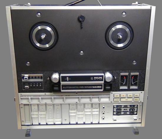 Magnétophone Hi-Fi Stéréo N4450 PHILIPS - Année 1971