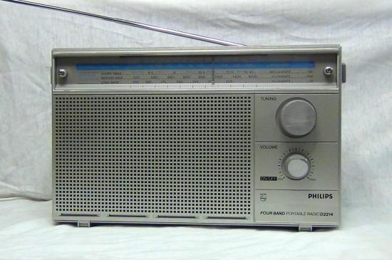 Radio 4 Bandes AM/FM - D2214 PHILIPS - Année 1982