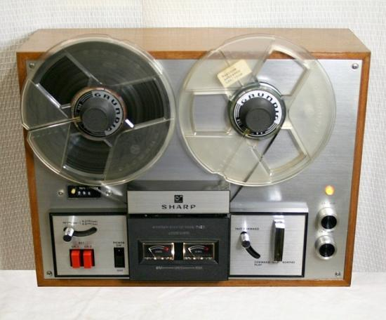 Magnétophone Stéréo RD-712 SHARP - Année 1971