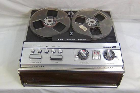 Magnétophone TK245 de Luxe GRUNDIG - Année 1967 à 1969