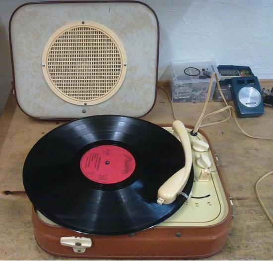 Électrophone Portable  GID - Année 1960
