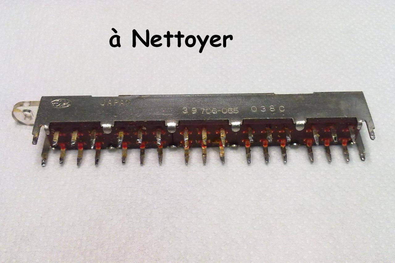 Radio k7 rr120 grundig - Nettoyer circuit imprime ...
