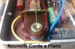 3 corde a piano