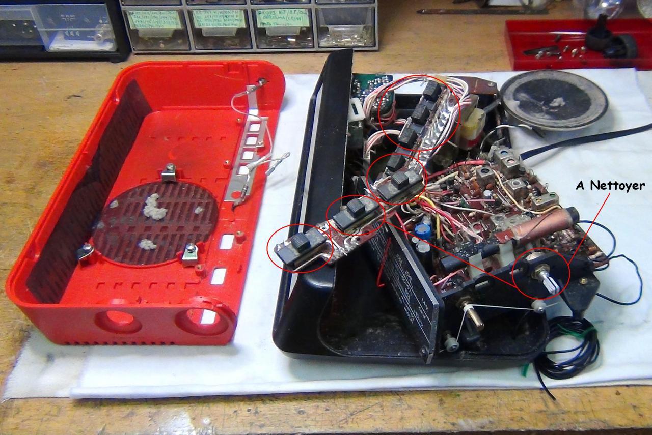 Radio clock w saba electronic - Nettoyer circuit imprime ...