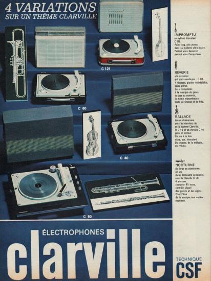 5 pub electrophones clarville
