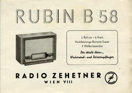 Rubin b58